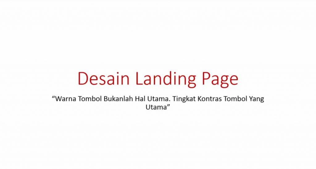 Video 6 Desain Landing Page